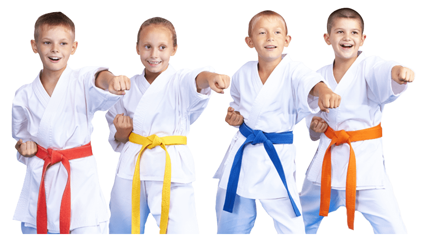 kids martial arts landing page - kids on slider transparent-min